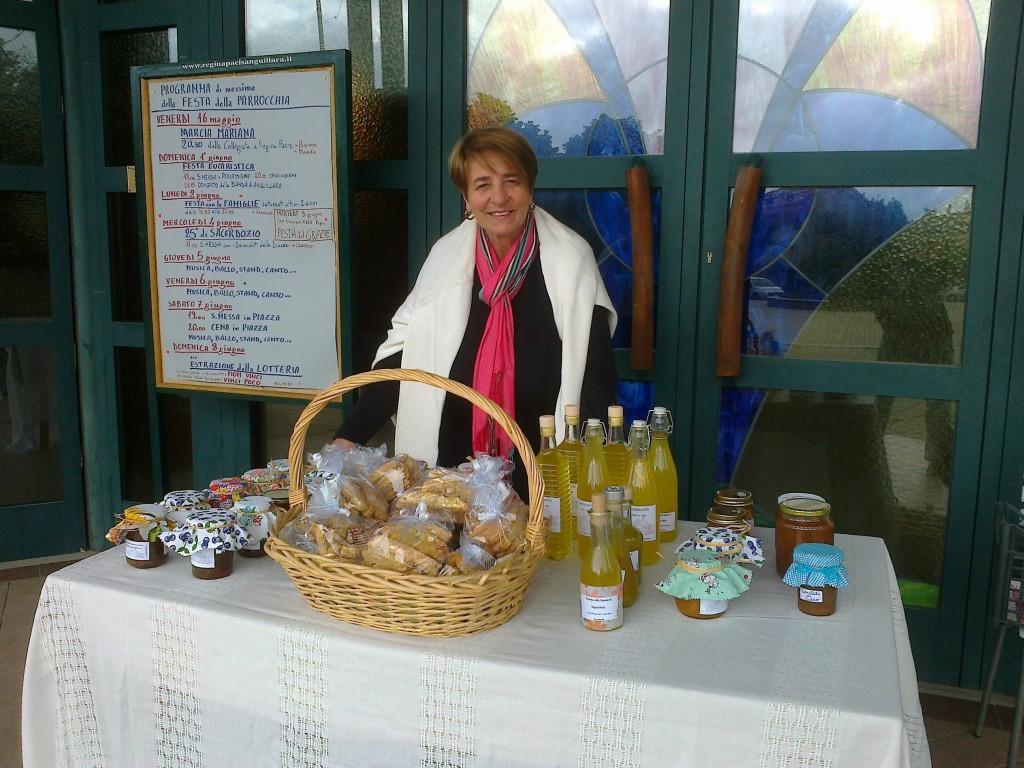 Vendita di prodotti alimentari fatti in casa per autofinanziamento Mutuo Aiuto