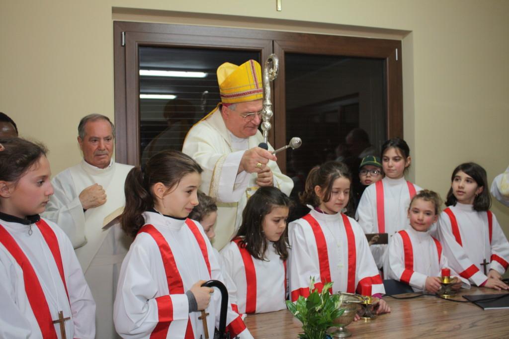 Benedizione del Vescovo delle 4 stanze, febbraio 2014