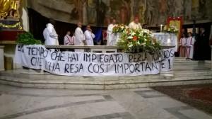 Fabrica di Roma, Santa Messa di insediamento di Don Luigi